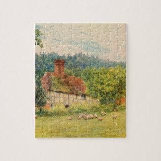 Arte del jardín del vintage - Allingham, Helen Puzzles Con Fotos
