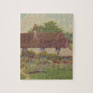 Arte del jardín del vintage - Allingham, Helen Puzzle