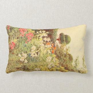 Arte del jardín del vintage - Elgood George S Almohada