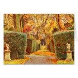 Arte del jardín del vintage - Elgood, George S. Felicitaciones