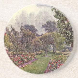 Arte del jardín del vintage - Rowe Ernesto A Posavaso Para Bebida