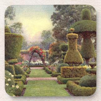 Arte del jardín del vintage - Rowe Ernesto A Posavasos