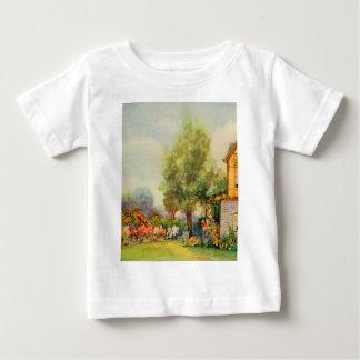 Arte del jardín del vintage - Steele, delegado de Playera