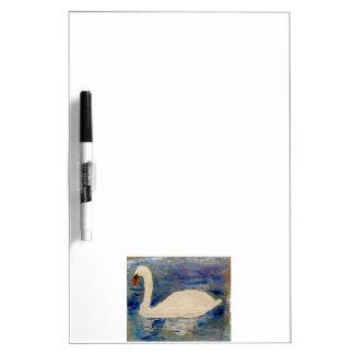 Arte del lago swan pizarras