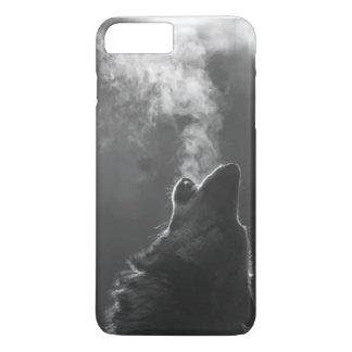 Arte del lobo funda iPhone 7 plus