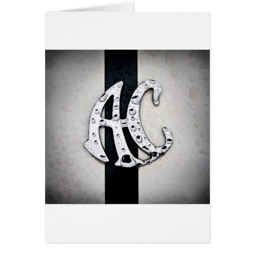 Arte del logotipo de la insignia de la CA Tarjeta De Felicitación