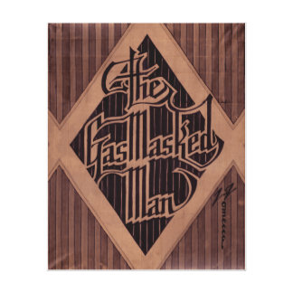 Arte del logotipo del hombre de GasMasked