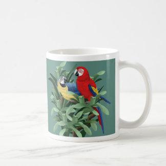 Arte del Macaw Tazas