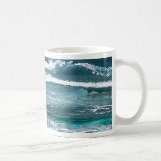 Arte del mar del grillo - océano de CricketDiane Taza De Café
