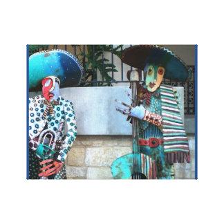Arte del Mariachi Impresión En Lona