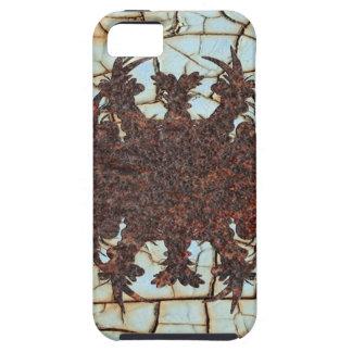 arte del metal oxidado iPhone 5 Case-Mate cárcasas
