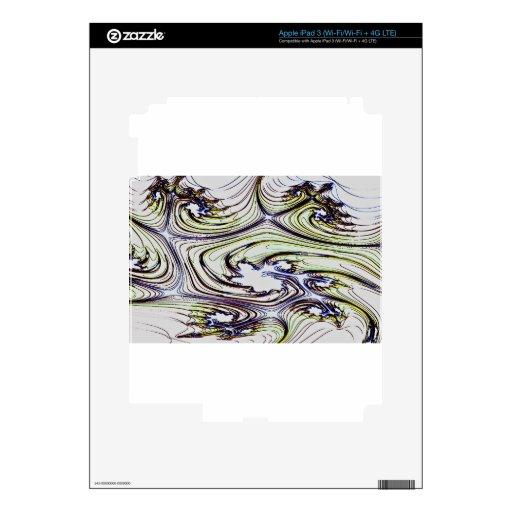 Arte del modelo iPad 3 pegatina skin