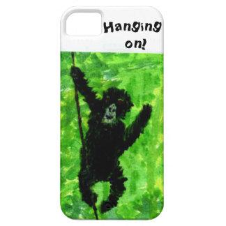 Arte del mono del gorila de la diversión funda para iPhone 5 barely there