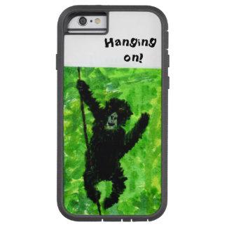 Arte del mono del gorila de la diversión funda de iPhone 6 tough xtreme