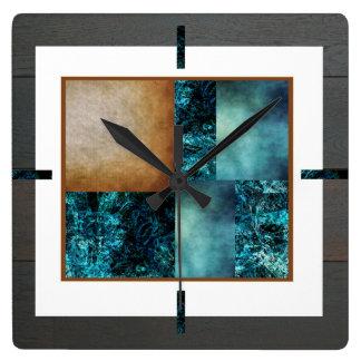 Arte del montaje por el reloj de marco de DVH y de