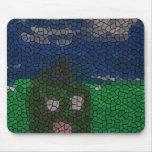 Arte del mosaico alfombrillas de ratón