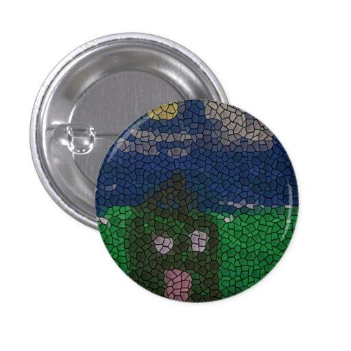 Arte del mosaico pin