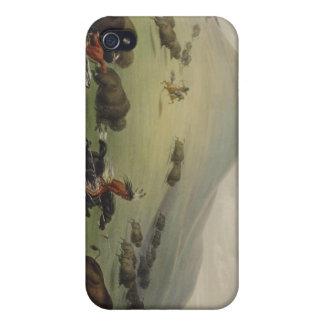 Arte del nativo americano de Catlin iPhone 4 Protector