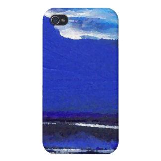 Arte del océano de CricketDiane de la danza de la  iPhone 4 Protectores
