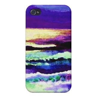 """""""Arte del océano de CricketDiane del mar de la noc iPhone 4/4S Carcasa"""