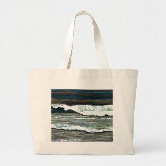 """Arte del océano de CricketDiane del """"paisaje marin Bolsas De Mano"""
