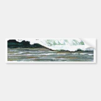 """Arte del océano de CricketDiane del """"paisaje marin Pegatina De Parachoque"""