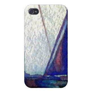 """Arte del océano de CricketDiane del """"velero"""" iPhone 4 Carcasa"""
