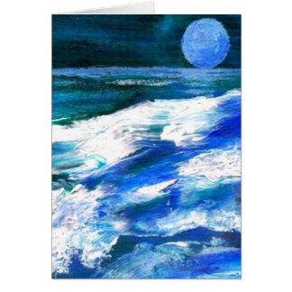 Arte del océano de CricketDiane - ondas del mar de Felicitacion