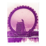 Arte del ojo de Londres Postales