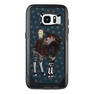 Arte del OKAPI y del BÚHO Funda OtterBox Para Samsung Galaxy S7 Edge