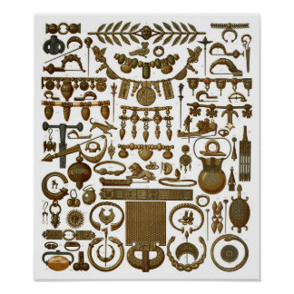 Arte del orfebre y del joyero (grecorromanos) poster