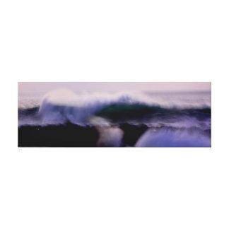 Arte del paisaje marino lona estirada galerías
