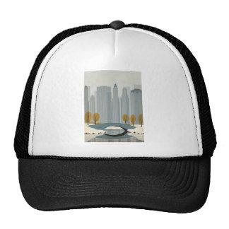 Arte del paisaje urbano gorras