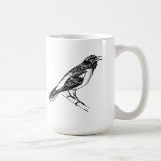 Arte del pájaro de Baltimore Oriole Taza