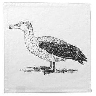 Arte del pájaro del albatros