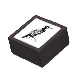 Arte del pájaro del cormorán