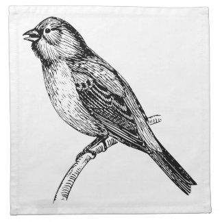 Arte del pájaro del empavesado
