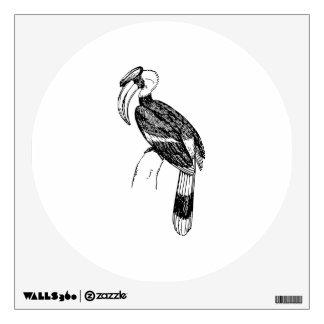 Arte del pájaro del Hornbill