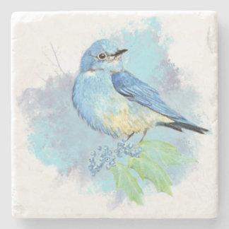 Arte del pájaro del jardín del Bluebird de la Posavasos De Piedra