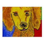 Arte del perro de GVCS Tarjetas Postales