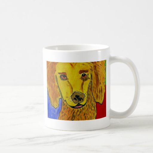 Arte del perro de GVCS Taza