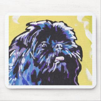 Arte del perro del estallido de Affenpinsher Tapete De Ratón