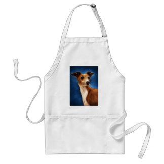 Arte del perro del galgo italiano - Magnifico Delantal