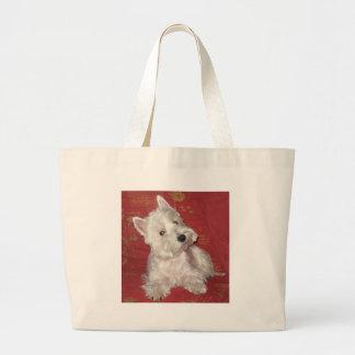 Arte del perro: el Westie Bolsa