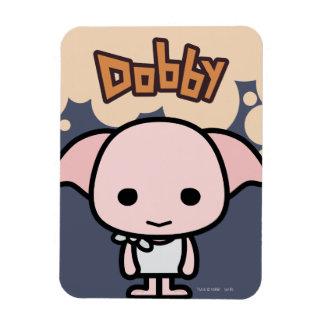 Arte del personaje de dibujos animados del Dobby Imán De Vinilo