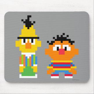 Arte del pixel de Bert y de Ernie Alfombrilla De Raton