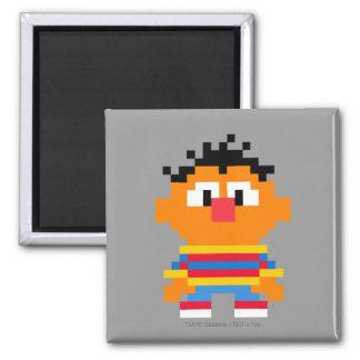 Arte del pixel de Ernie Imán Cuadrado