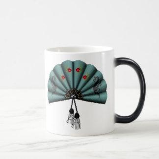 Arte del pixel de la fan del dragón verde del taza mágica