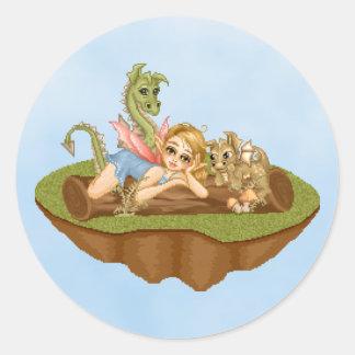 Arte del pixel de los amigos de la tierra del Faer