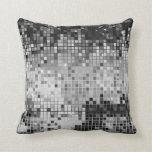 Arte del pixel del extracto del brillo de las lent almohadas